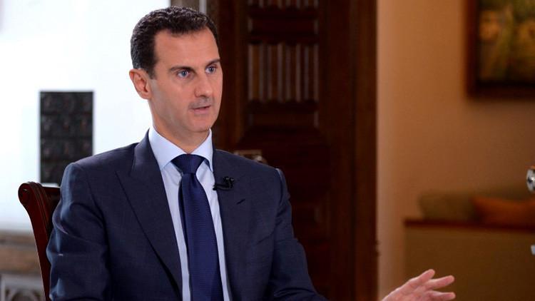Bashar al Assad cuenta por qué Occidente teme un triunfo de Siria