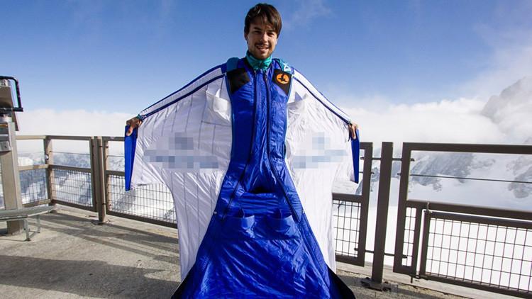 VIDEO: Graban los últimos segundos de vida de un saltador base ruso