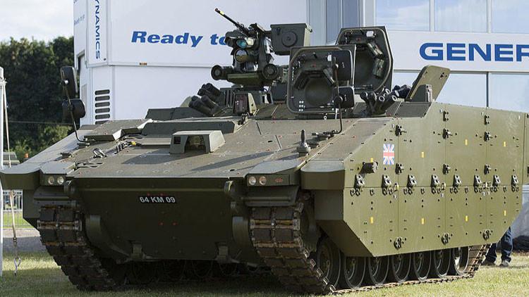 EE.UU. exhibe al tanque Griffin, nuevo vehículo de combate ligero inspirado en los Abrams y Ajax