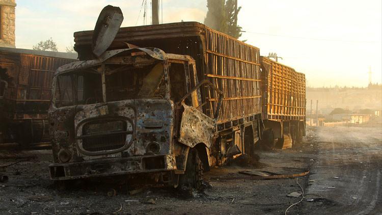 Informe independiente: El ataque al convoy de la ONU fue una imitación bien planificada
