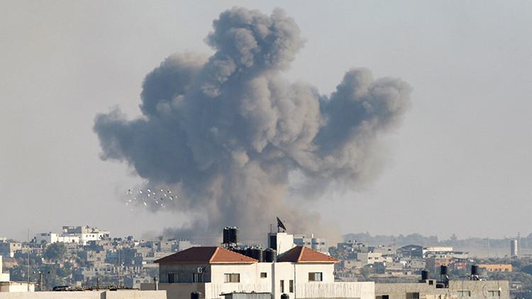 La Fuerza Aérea de Israel ataca posiciones de Hamás en la Franja de Gaza
