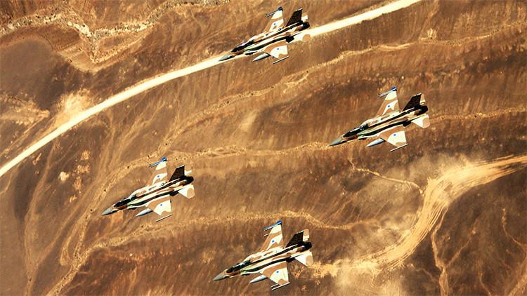 Un caza F-16 de Israel se estrella en el sur del país