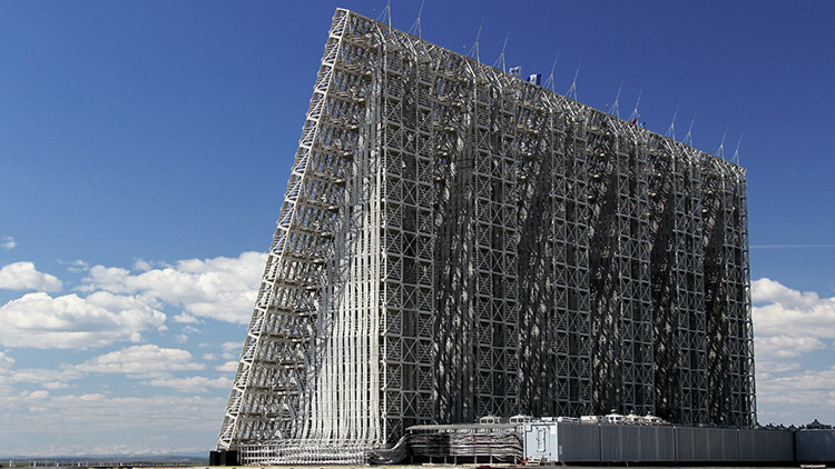 Un radar ruso detecta desde Siberia un objeto balístico en Norteamérica