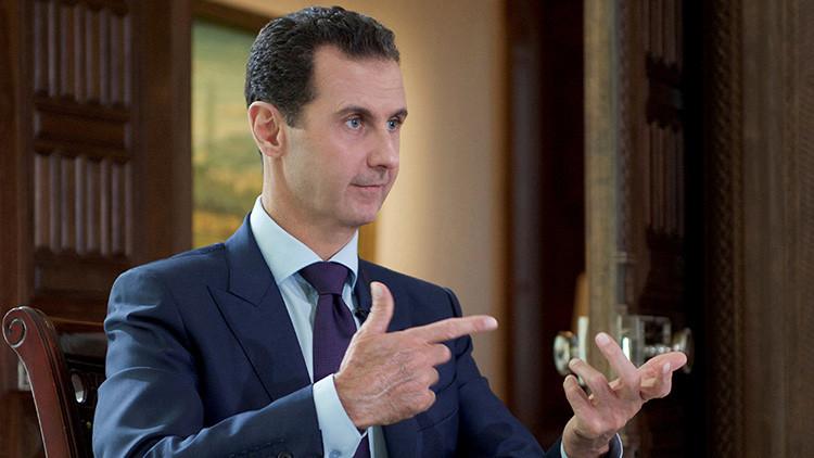 """Bashar al Assad: """"La oposición moderada en Siria es un mito"""""""