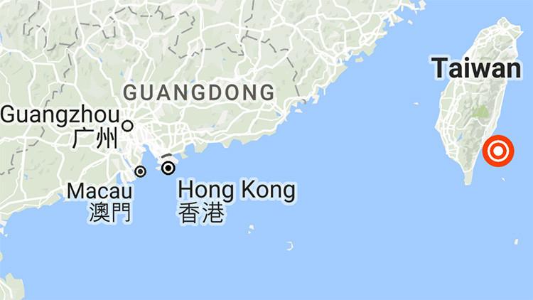 Un sismo de magnitud 5,7 sacude las costas de Taiwán