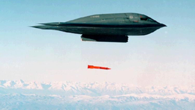 EE.UU. realiza simulacro de lanzamiento de su bomba nuclear B61