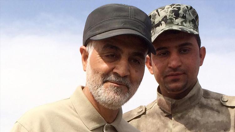 El comandante de las Fuerzas Quds de la Guardia Revolucionaria Islámica de Irán, el general de división Qasem Soleimani.