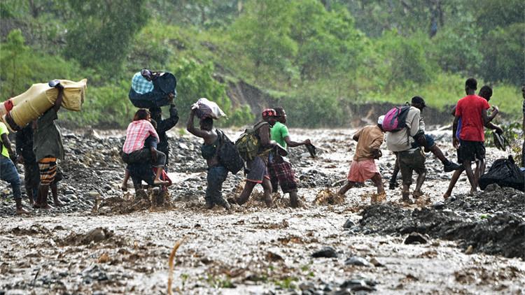 Publican un video de los daños devastadores que causó el huracán Matthew en Haití