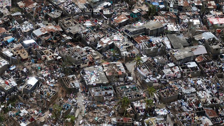 Se eleva a 238 la cifra de muertos por el huracán Matthew en Haití