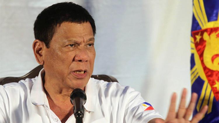 """Presidente de Filipinas a EE.UU. y la UE: """"Márchense y entreguen su dinero a otro"""""""