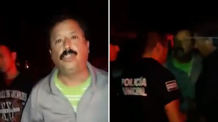 Video: Un legislador mexicano agrede a unos policías y se convierte en #LordDiputado