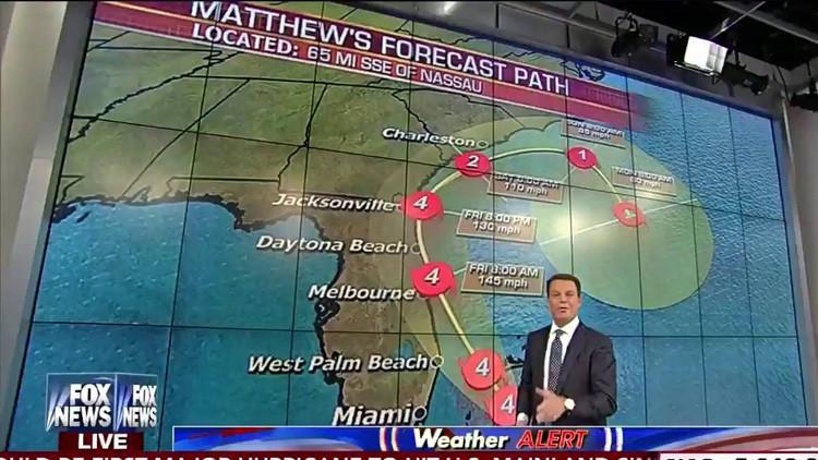 """Un presentador de Fox, sobre el huracán Matthew: """"Ustedes y todos sus conocidos están muertos"""""""