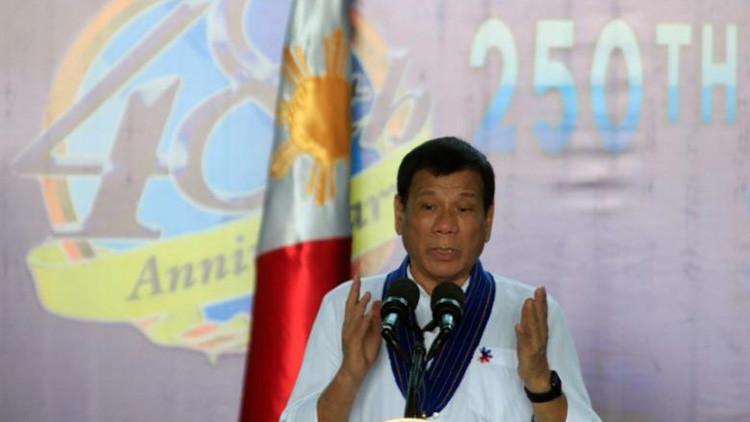 """Duterte a EE.UU.: """"¡No nos pisoteen o van a lamentarlo!"""""""