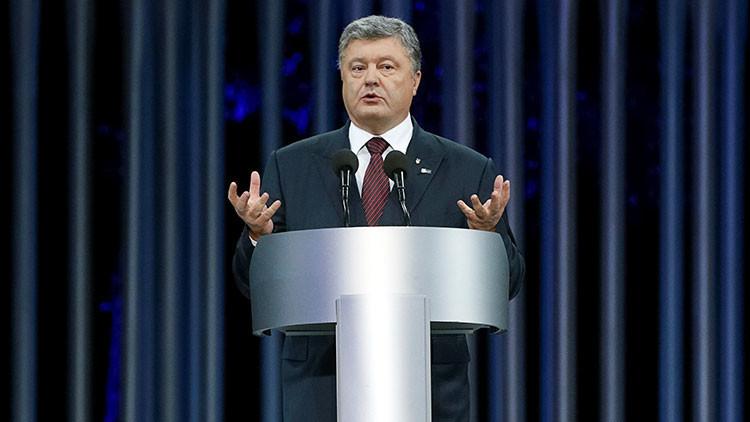 Poroshenko, preocupado por la amplia difusión de RT