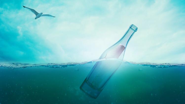 """Video: Un joven encuentra """"el peor"""" secreto en una botella con mensaje"""
