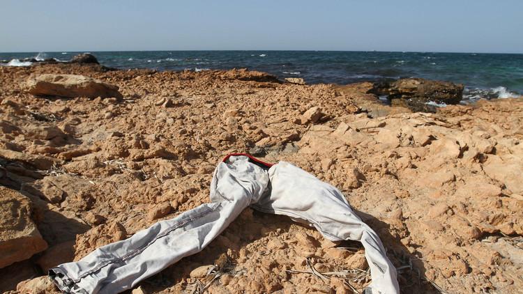 FUERTES IMÁGENES: Un terrible hallazgo en las costas de Libia