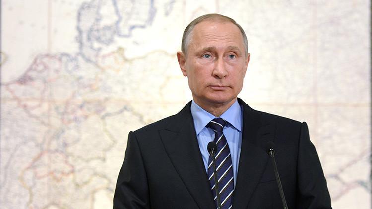 Putin revela el motivo de la actitud negativa de Occidente contra su persona