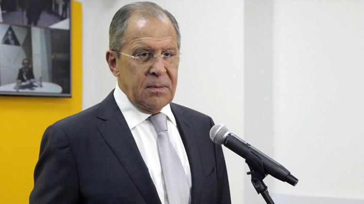 """Lavrov: """"Los juegos de EE.UU. en Siria son peligrosos, Rusia puede protegerse"""""""