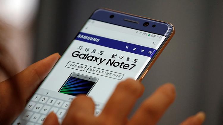 Samsung suspende la producción de Galaxy Note7 'explosivo'