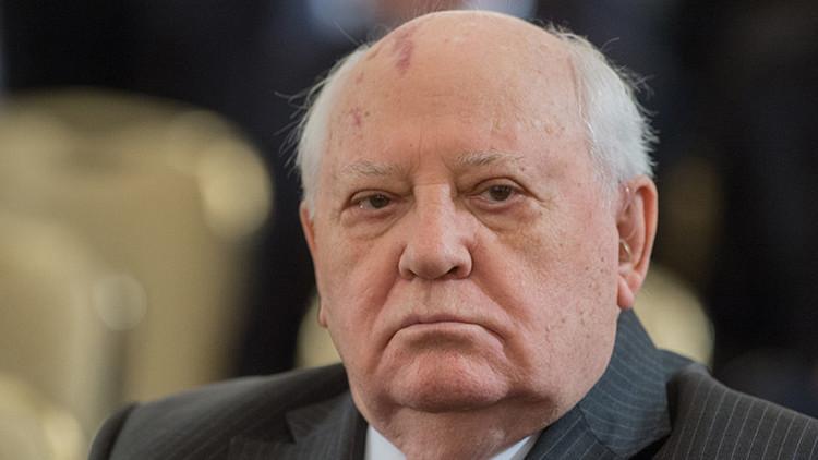 """Gorbachov: """"El mundo ha llegado hasta un punto peligroso"""""""