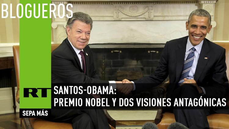 Santos-Obama: Premio Nobel y dos visiones antagónicas