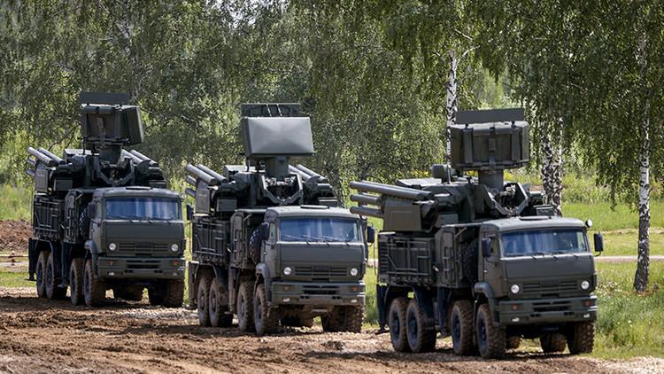 El sistema antiaéreo ruso Pántsir blindará al Ejército sirio ante un posible ataque de EE.UU.