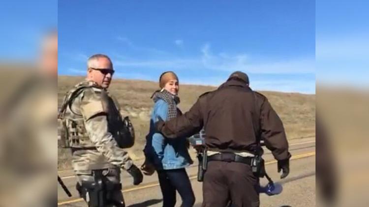 Arrestan a protagonista de 'Divergente' y 'Snowden' tras una protesta en EE.UU.