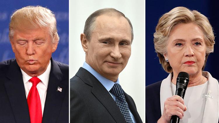 Kim Dotcom lanza la encuesta 'Trump vs Clinton vs Putin' y estos son los resultados