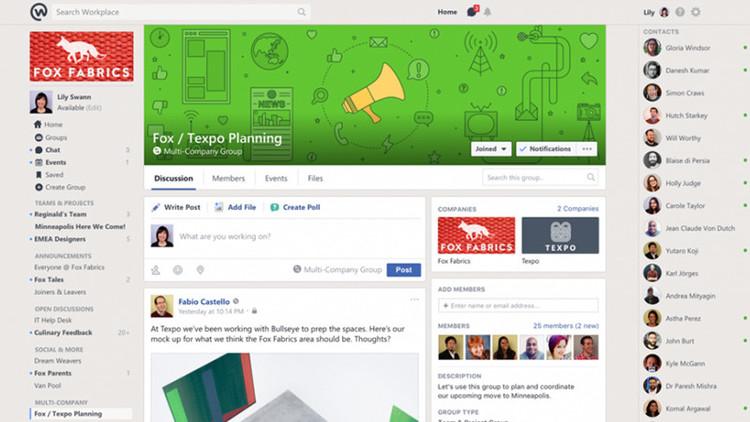 Facebook se apoderará de nuestra vida laboral a través de su nueva herramienta