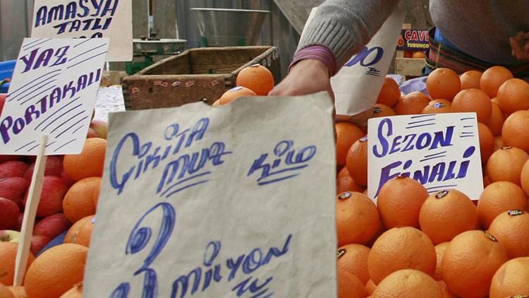 Fruto del deshielo: Rusia abre las puertas a productos agrícolas provenientes de Turquía