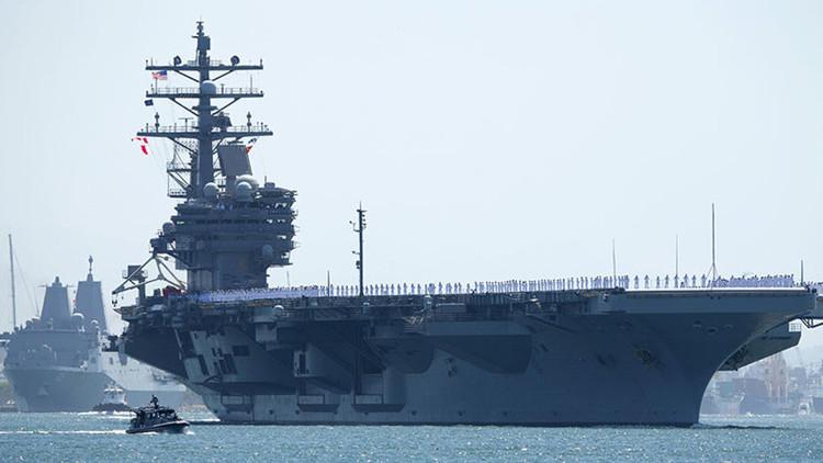 Las maniobras navales de EE.UU. y Corea del Sur incluyen el ensayo del asesinato de Kim Jong-Un