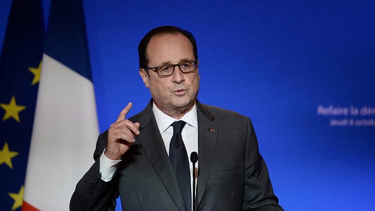"""Hollande: """"EE.UU. no es suficientemente poderoso para llevar la paz a Siria"""""""