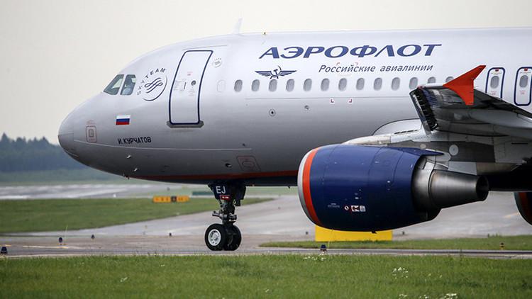 Evacuan un avión de Aeroflot en Suiza por amenaza de bomba