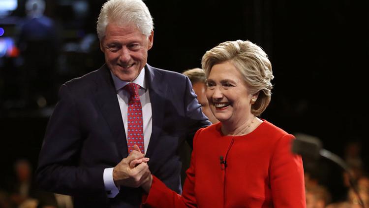 Publican porno en las páginas de Wikipedia de Bill y Hillary Clinton