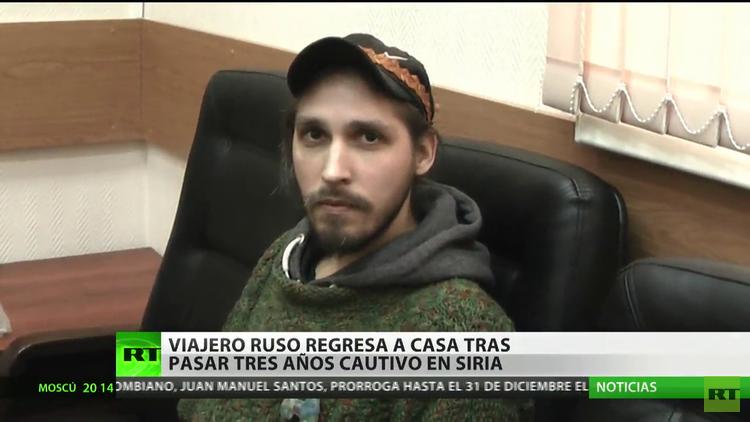 Un viajero ruso regresa a casa tras pasar tres años cautivo en Siria