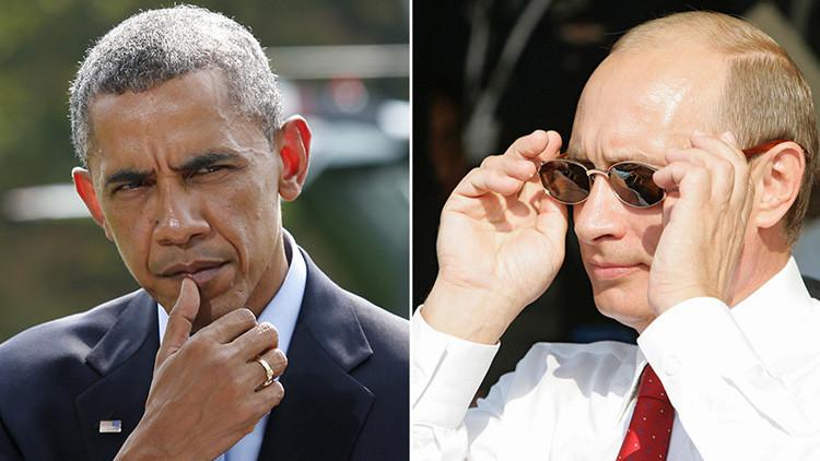 """Obama nombra a Putin """"jefe del KGB"""" en un frenético ataque a Trump"""