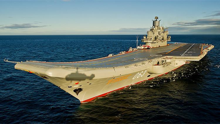 El Reino Unido moviliza a su Armada en respuesta al envío del portaaviones ruso al Mediterráneo
