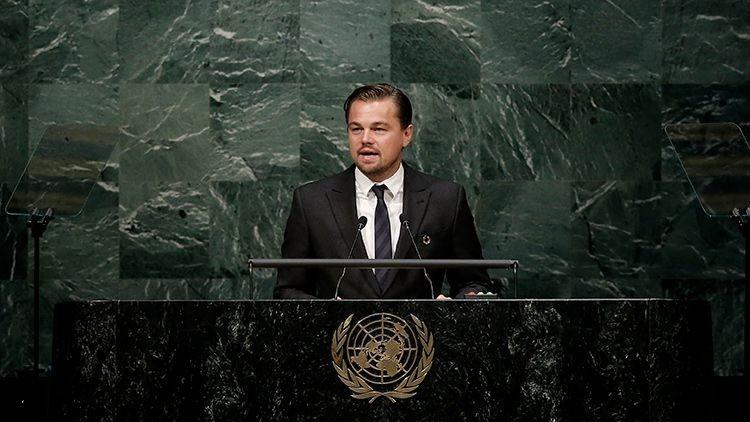 Exigen que DiCaprio dimita como mensajero de la Paz en la ONU por corrupción