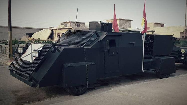 'Mad Max': Estos son los vehículos 'blindados' que liberarán a Mosul del Estado Islámico (Fotos)