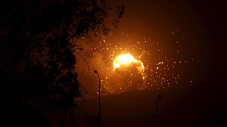 VIDEO: Así quema la Aviación rusa posiciones de los terroristas en Siria