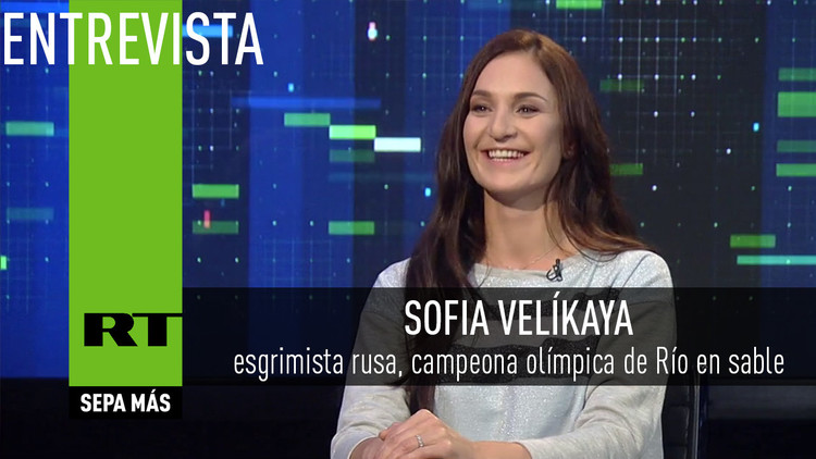 Entrevista con Sofia Velíkaya, esgrimista rusa y campeona olímpica de Río en sable