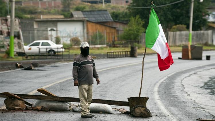 El pueblo mexicano que expulsó al crimen organizado y a las autoridades