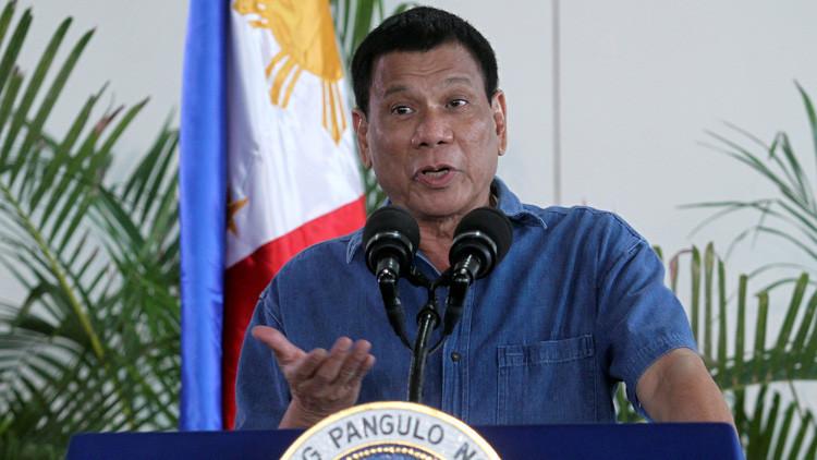 """Duterte: """"Me importan una mierda los derechos humanos"""""""