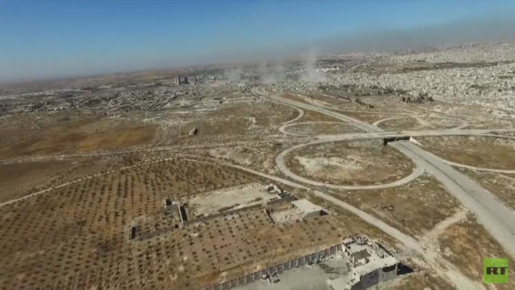 Video: Las secuelas de una contraofensiva del Ejército sirio y Hezbolá en Alepo