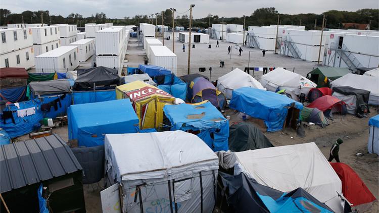 Una intérprete violada en las inmediaciones del campamento de migrantes de Calais