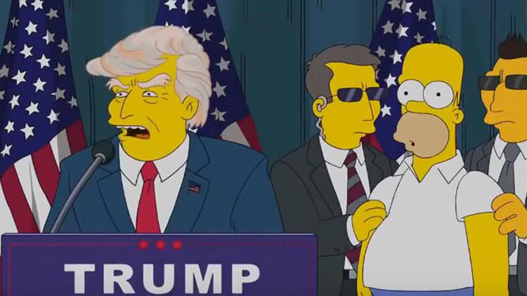 Donald Trump y otras 6 increíbles profecías de 'Los Simpsons' que se hicieron realidad