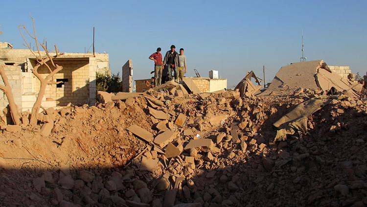 Ataque aéreo de la coalición internacional deja 6 muertos en una localidad de la provincia de Alepo