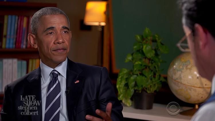 """Obama: """"No sé por qué me concedieron el Premio Nobel de la Paz"""""""
