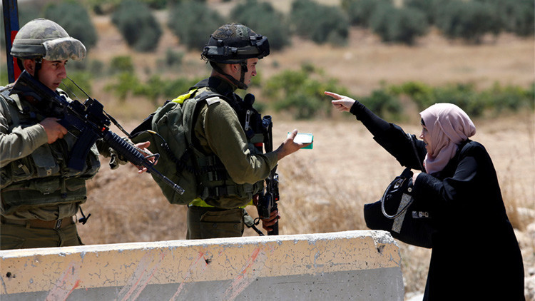 FUERTES IMÁGENES: Fuerzas israelíes matan a tiros a una mujer palestina en el norte de Cisjordania