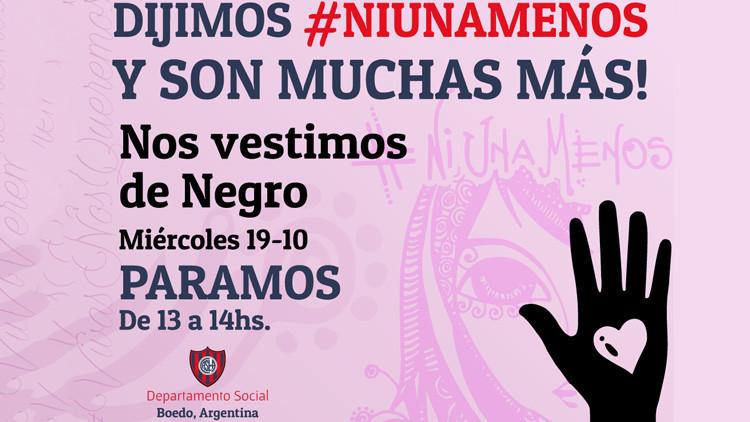 """""""Asesinadas por ser mujeres"""": Argentinas salen a la calle contra la violencia de género"""